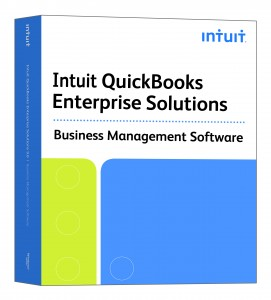 Picture of QuickBooks Enterprise Solutions Box