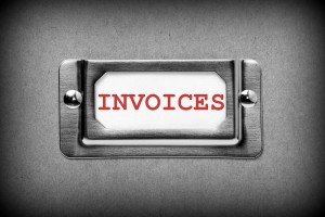 Invoices Drawer Label